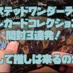 ツイステッドワンダーランド メタルカードコレクション4 開封3連発!