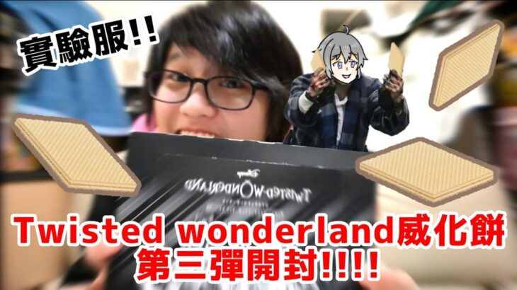 [Twisted wonderland]威化餅第三彈開封!!![ツイステッドワンダーランド ウエハース3]