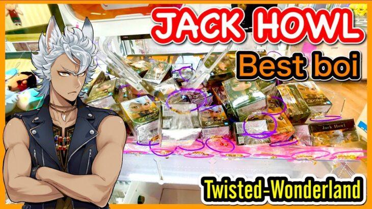 【ツイステ】JACK HOWL is my best boi !! TWISTED-WONDERLAND Claw Machine in Japan UFOキャッチャー 推しはジャック・ハウル
