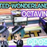 【自力で全種類ゲット】TWISTED-WONDERLAND Octavinelle Qposket !! ツイステ オクタヴィネル寮 キューポスケット UFOキャッチャー Claw Machine