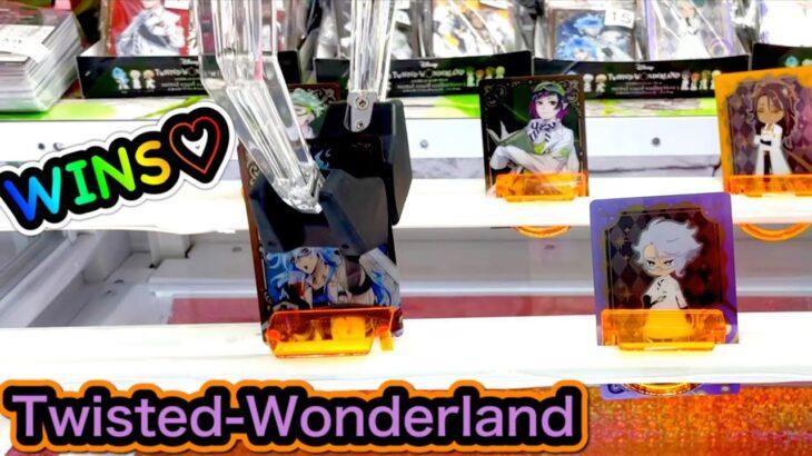 【TWISTED-WONDERLAND】Claw Machine in Japan !! Cute Prizes !! UFO キャッチャー ツイステッドワンダーランド メタルカードコレクション