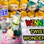 【ツイステ】TWISTED-WONDERLAND Claw Machine !! Cute FIGURE , DOLL !! UFO キャッチャー ツイステッドワンダーランド グリム ぬいぐるみ